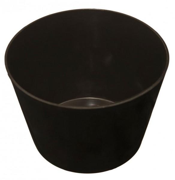 Gipsbecher hoch - aus flexiblem Weich-Kunststoff