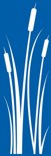 Schablone Schilf - XL Wandschablone, Malerschablone
