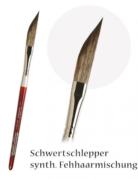 Schwertschlepper - synthetische Fehhaarmischung