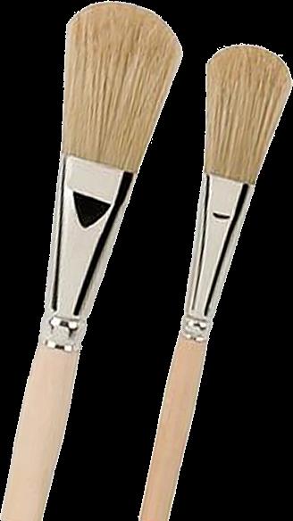 Hobbypinsel - Universalpinsel - Emaillelackpinsel mit Naturborsten