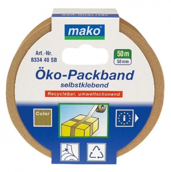 Öko-Klebeband - umwelrfreundliches Packband aus Papier