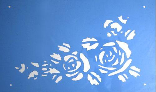Schablone Rosenblüten