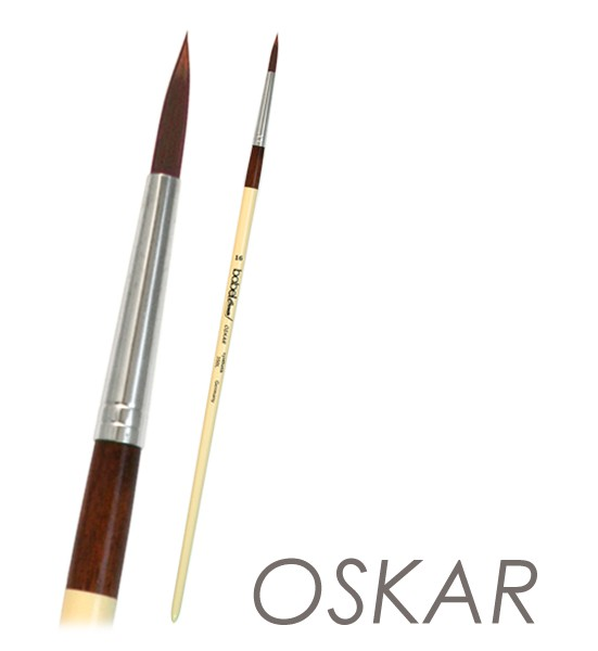 Acrylmalpinsel OSKAR - Künstler-Acrylpinsel