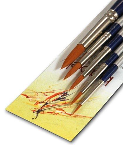 Hochwertiges Künstlerpinsel Set geeignet für alle Farben
