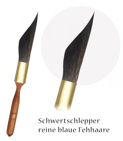 Fehhaar-Schwertschlepper - Dolchschlepper - beste blaue Fehhaare