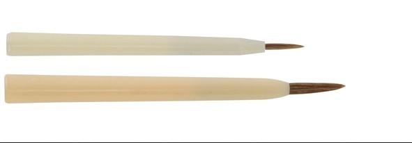 Keramik- und Porzellanmalpinsel spitz - helle Rindsohrenhaare