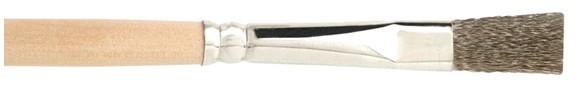 Stahl-Drahtpinsel flach gewellt - Reinigungspinsel - Brenner pinsel