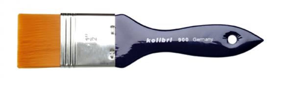 Grundierpinsel breit - Modler - Spalterpinsel - Synthetic Golden Sable Haare