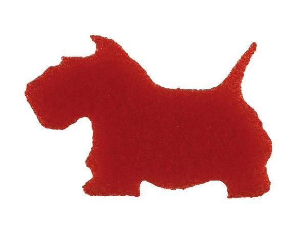 Motivstempel Hund, Wandstempel