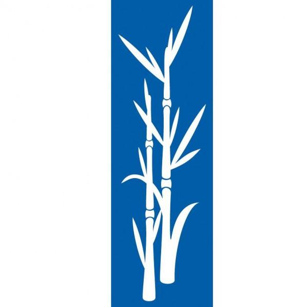 Schablone Bambus - XL Wandschablone, Malerschablone