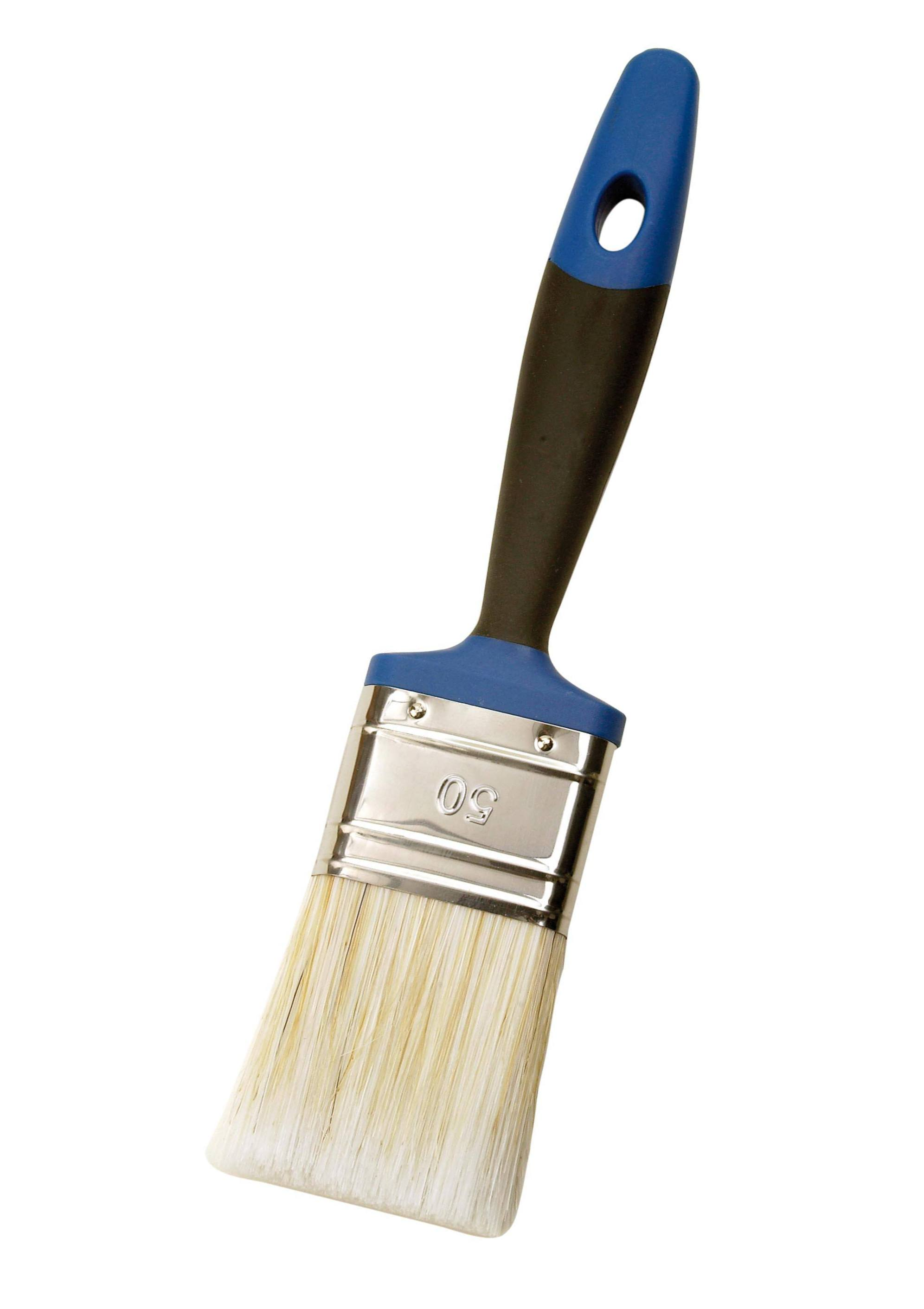 Dicke:14 mm mako Lack Flachpinsel mit ERGO-Griff Pinsel f/ür Lacke Lackpinsel in 3 Gr/ö/ßen Breite:50 mm