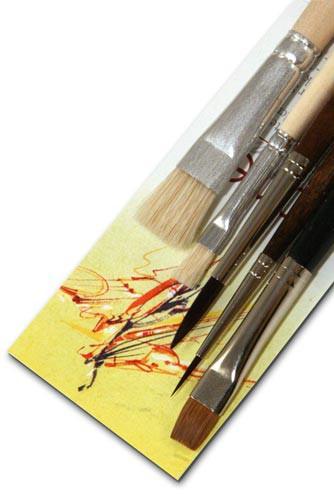 Ölmalpinsel-Set - Künstlerpinsel für die Ölmalerei