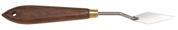 Malmesser / Malspachtel - flexibler Carbonstahl - Klinge 50 mm