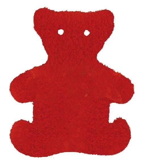 Motivstempel Bär, Wandstempel