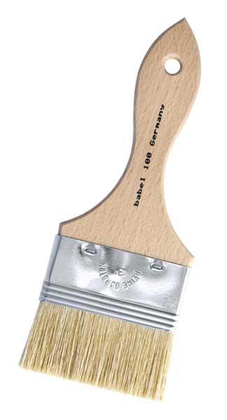 Künstler Flachpinsel - Clairettpinsel, Modler