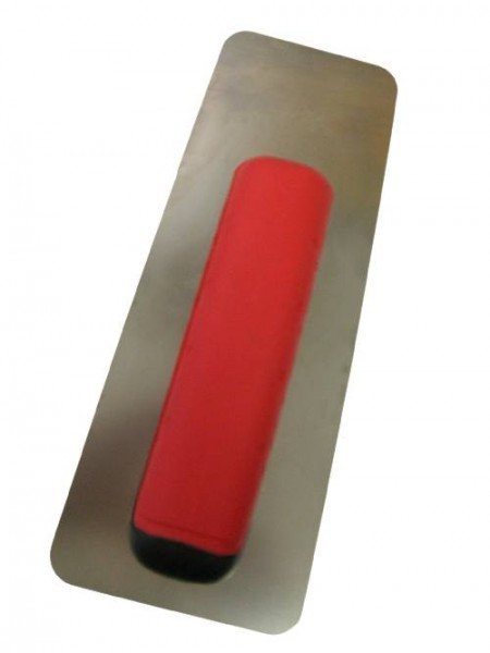 Glättekelle venezianisch Soft Grip - Trapezform