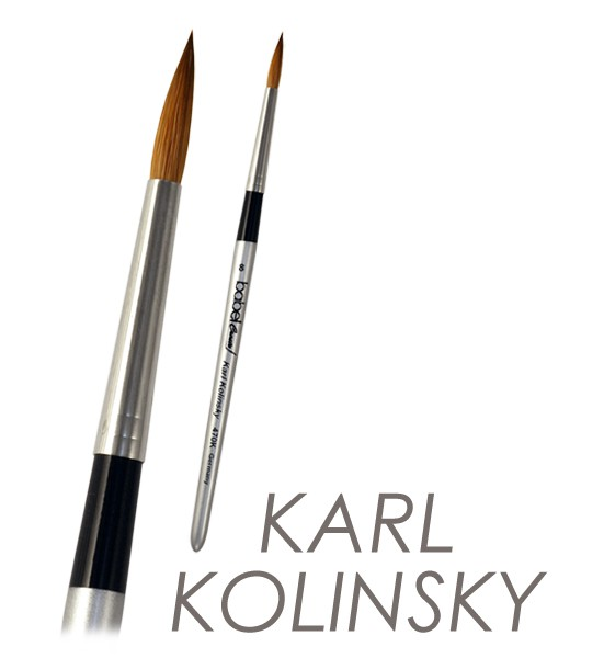 Kolinskypinsel - Kolinsky Red Sable Brush
