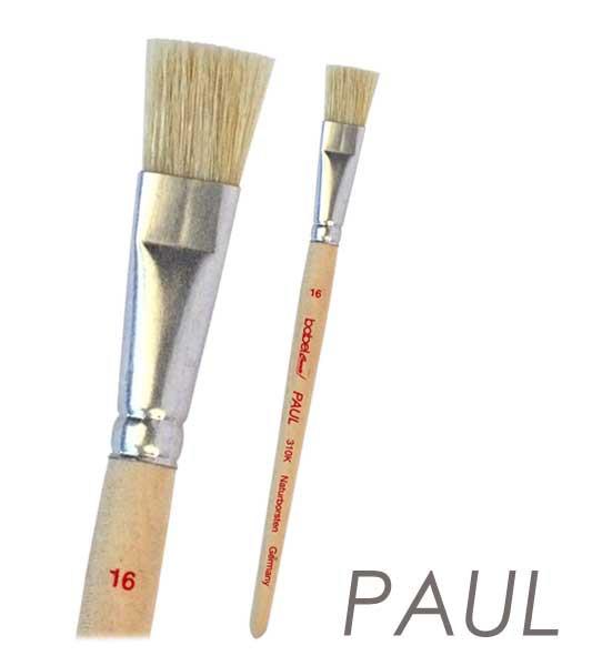 Borsten Künstlerpinsel PAUL flach