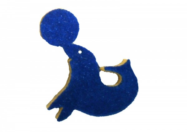 Wandstempel Seehund