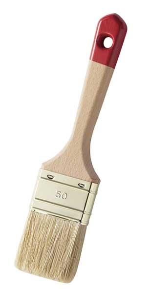 Lack-Flachpinsel - helle Borsten - sehr gute Ausführung