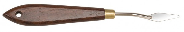 Malmesser / Malspachtel - flexibler Carbonstahl - Klinge 32 mm
